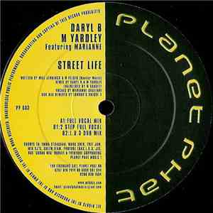 Daryl B & M Yardley Featuring Marianne - Street Life download album