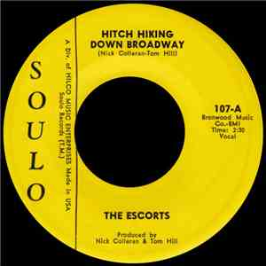 The Escorts  - Hitch Hiking Down Broadway download album