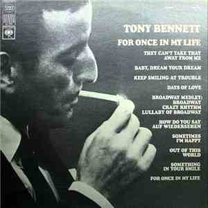 Tony Bennett - For Once In My Life download album