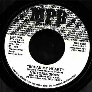 Victoria Shaw - Break My Heart download album