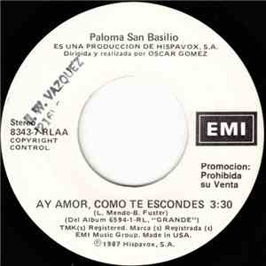 Paloma San Basilio - Ay Amor, Como Te Escondes download album