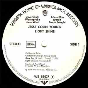 Jesse Colin Young - Light Shine download album