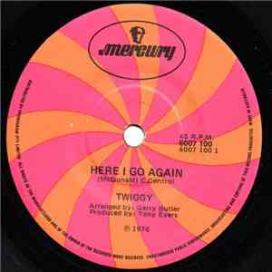 Twiggy  - Here I Go Again download album
