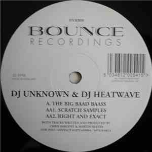 DJ Unknown & DJ Heatwave - The Big Baad Baass / Right And Exact download album