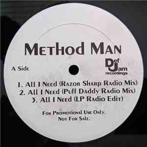 Method Man - All I Need download album