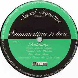 Theo Parrish - Summertime Is Here download album