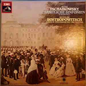 Tschaikowsky, Mstislav Rostropowitsch, London Philharmonic Orchestra - Sämtliche Sinfonien & Manfred download album