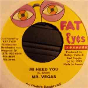 Mr. Vegas / Lukie D - Mi Need You / Danger download album