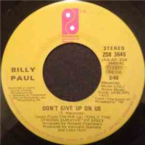 Billy Paul - Don't Give Up On Us download album
