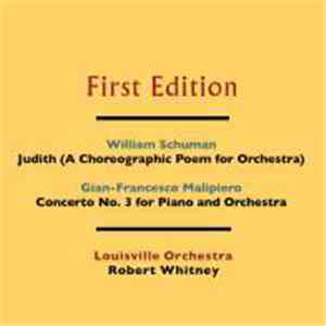 William Schuman, Gian Francesco Malipiero, The Louisville Orchestra, Robert Whitney - Louisville Orchestra Commissions download album