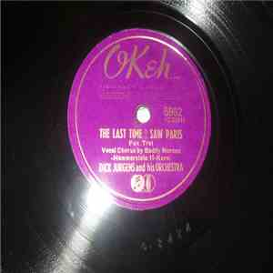 Dick Jurgens And His Orchestra - The Last Time I Saw Paris / Melody download album