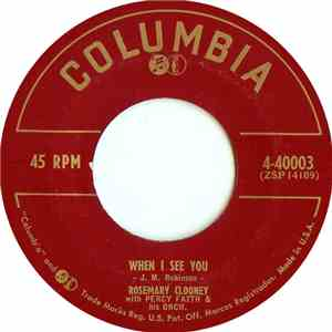 Rosemary Clooney - When I See You download album