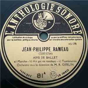 Jean-Philippe Rameau - Airs De Ballet download album