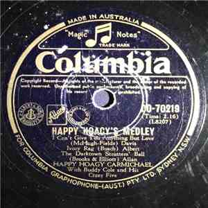 Happy Hoagy Carmichael, Buddy Cole And His Crazy Five - Happy Hoagy's Medley / The Crazy Otto Rag download album