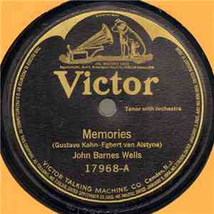 John Barnes Wells / Elsie Baker - Memories / One Fleeting Hour download album