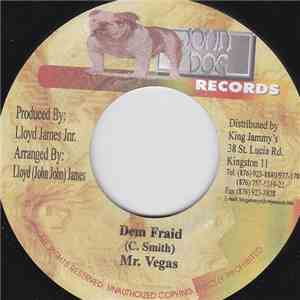 Mr. Vegas - Dem Fraid download album