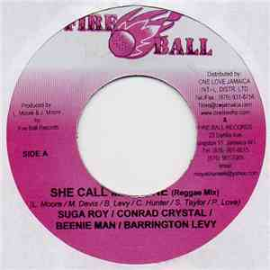 Suga Roy / Conrad Crystal / Beenie Man / Barrington Levy - She Call Me Phone download album